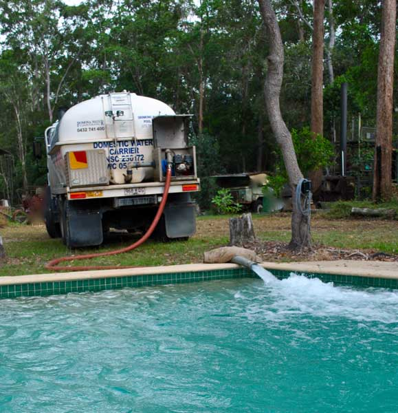Pomona water drinking water deliveries to noosa hinterland Water delivery to fill swimming pool